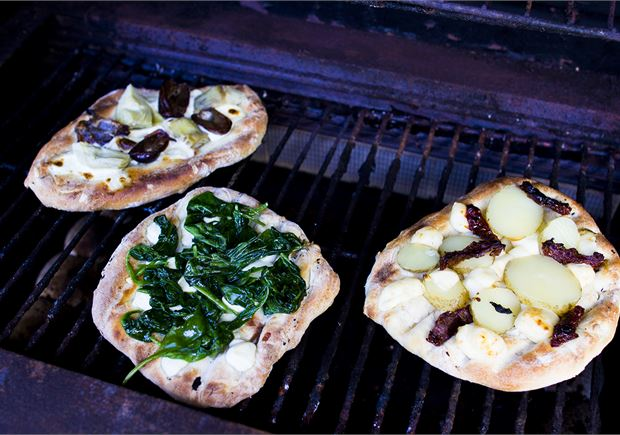 Grillatut pizzat