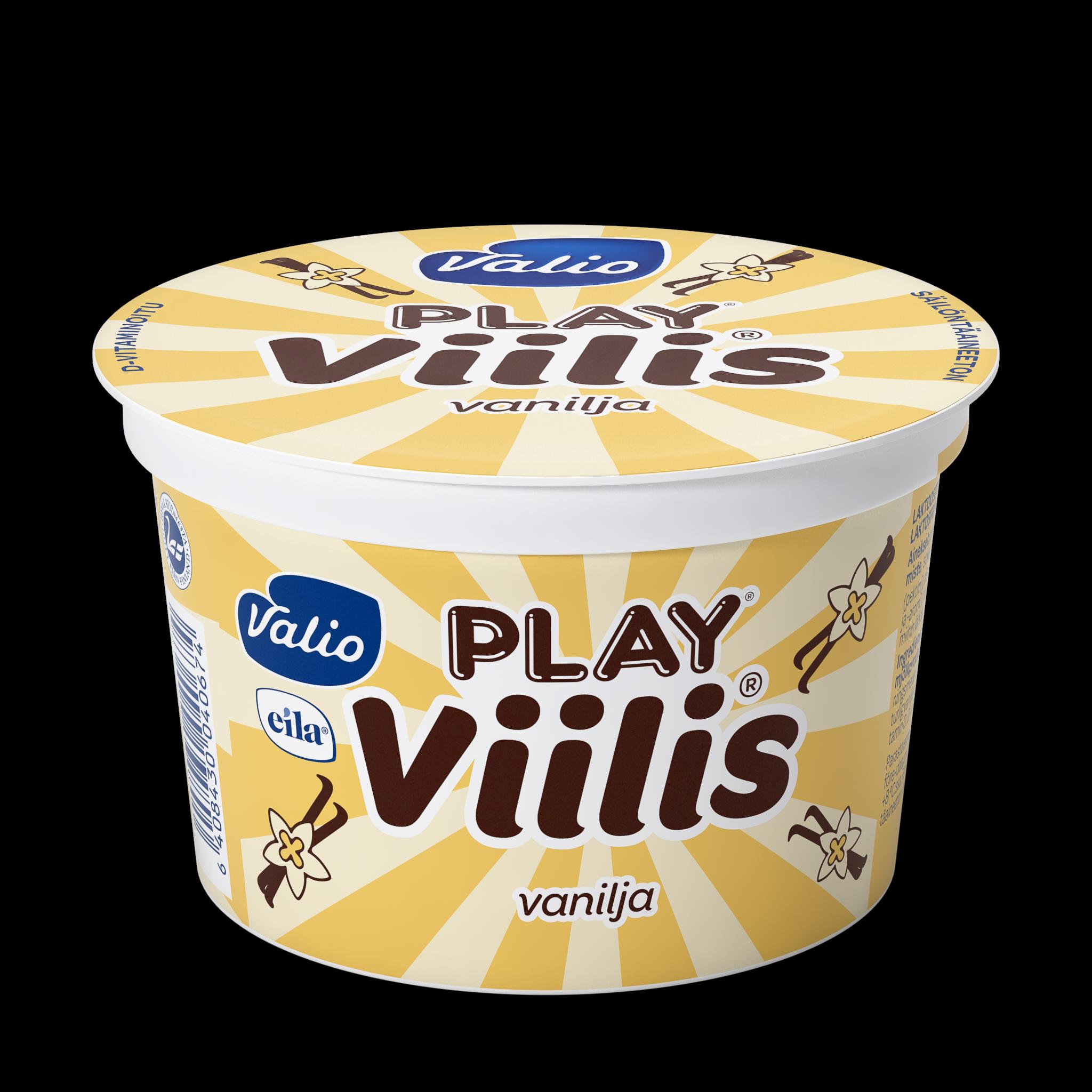 Valio Play® viilis® vanilja laktoositon