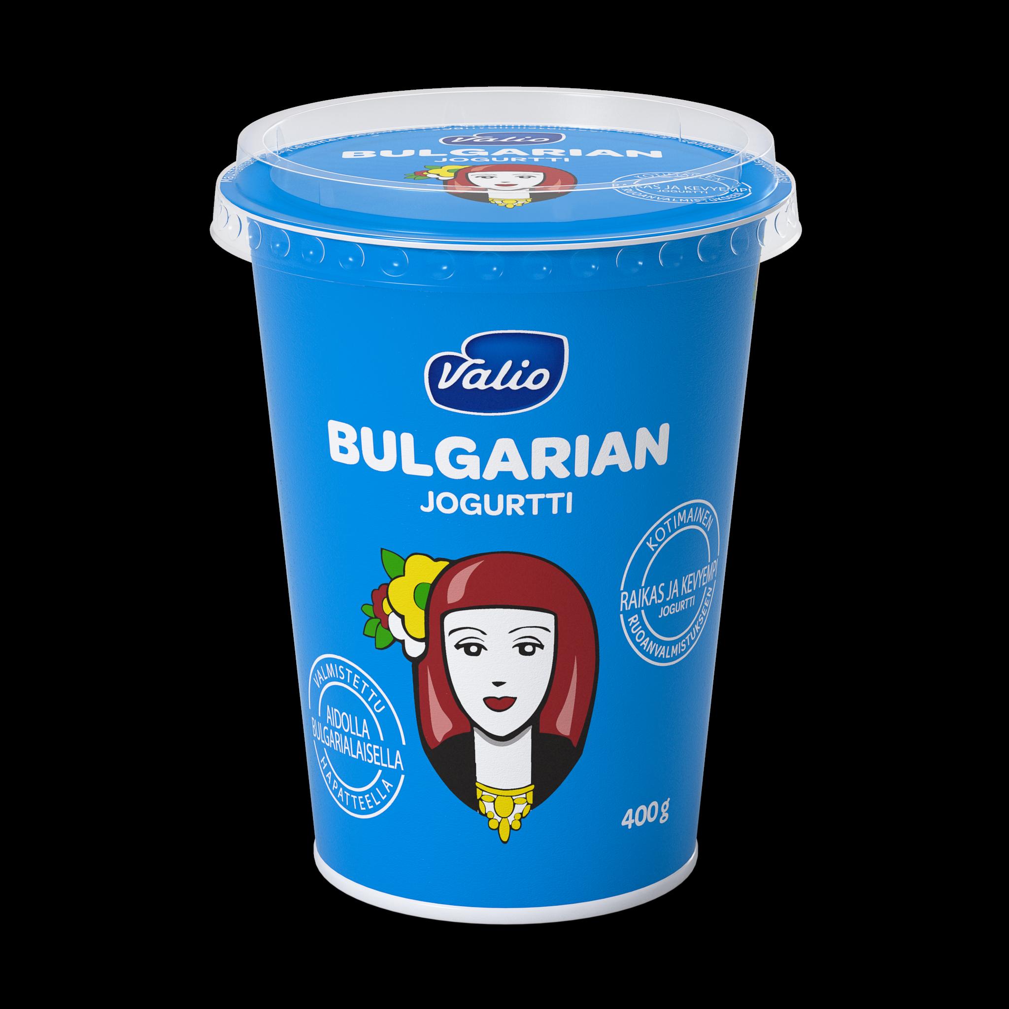 Valio Bulgarian jogurtti