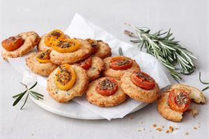 Juusto-tomaattikeksit
