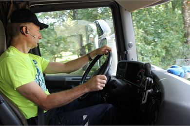 Milk lorry drivers are an important link in the quality chain
