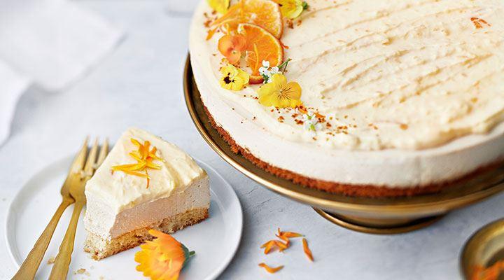 irish cream appelsiinijuustokakku