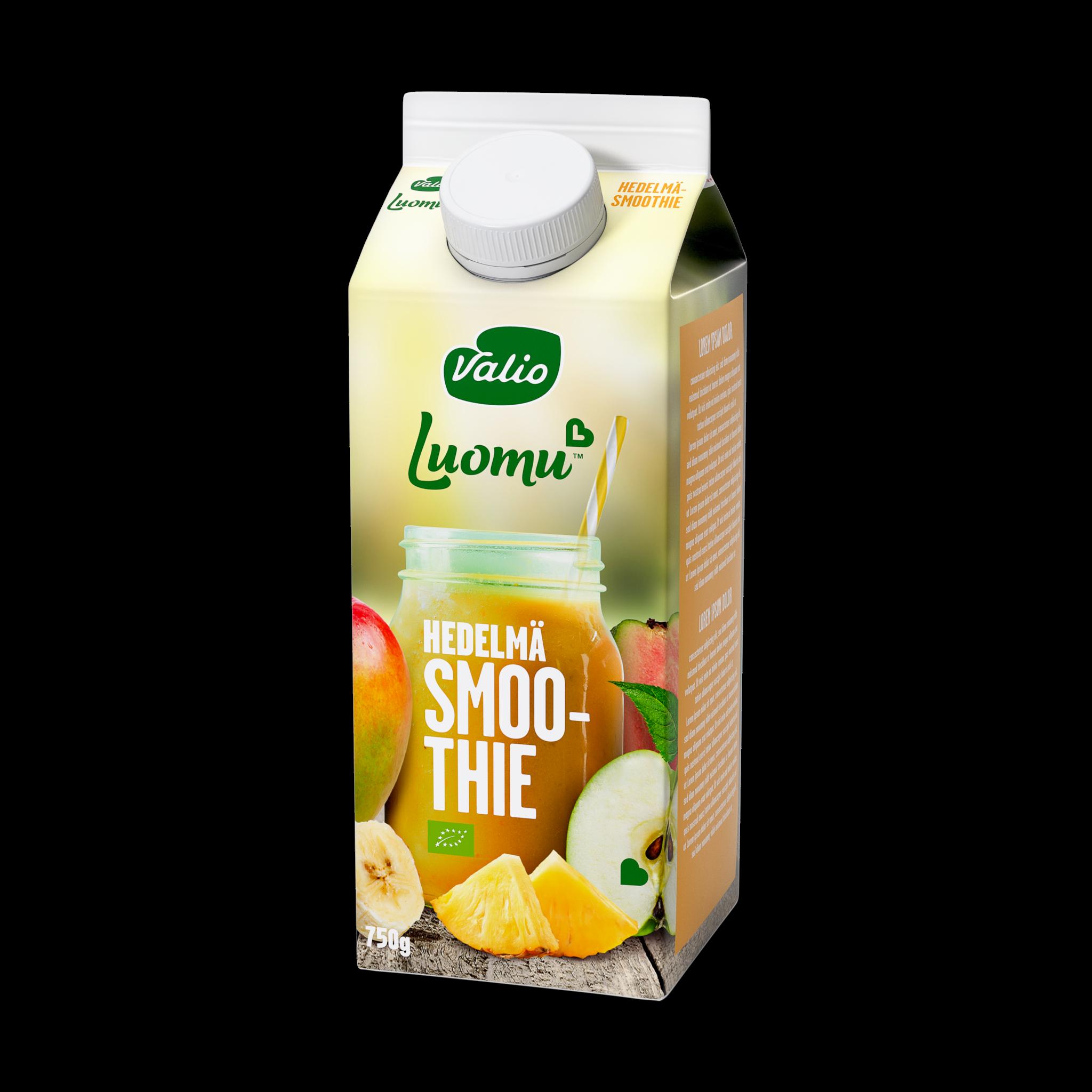 Valio Luomu™ smoothie  hedelmä