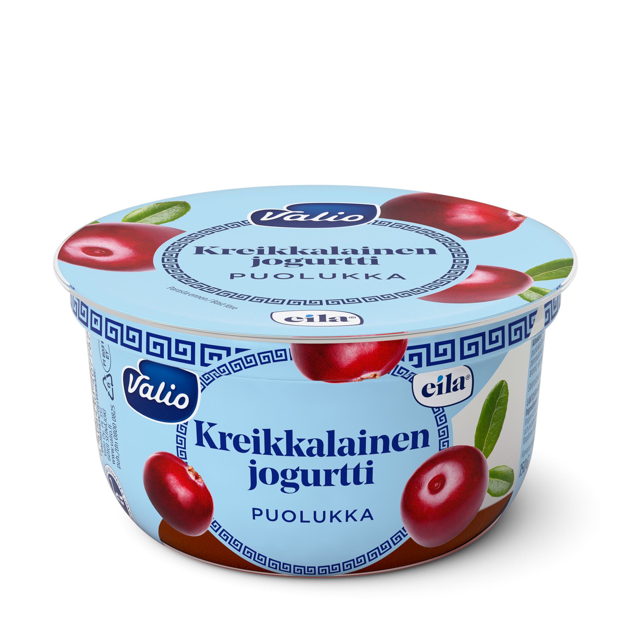 Valio kreikkalainen jogurtti puolukka laktoositon