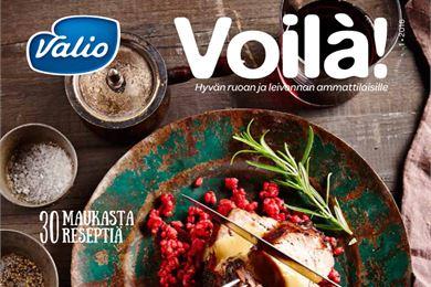 Voilà! – uudistunut lehti suurkeittiö- ja teollisuusasiakkaille