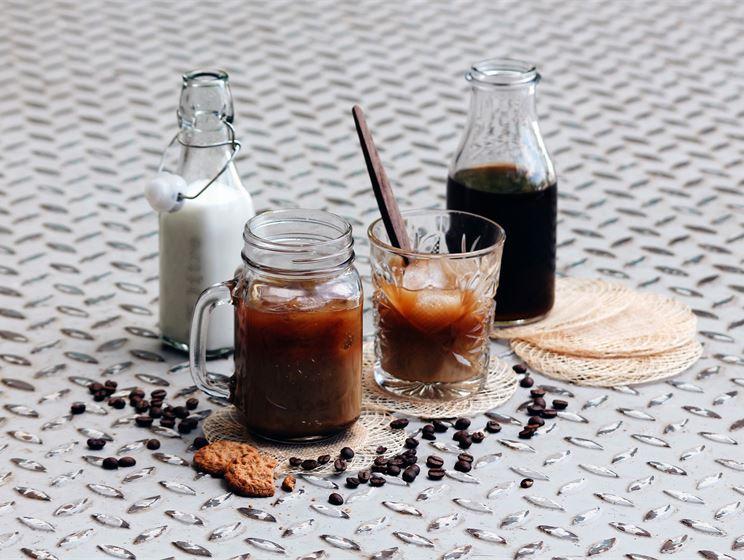 Kylmäuutettu kahvi eli cold brew coffee