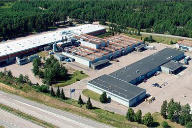 Valion Vantaan tehdas on erikoistunut sulatejuustoihin
