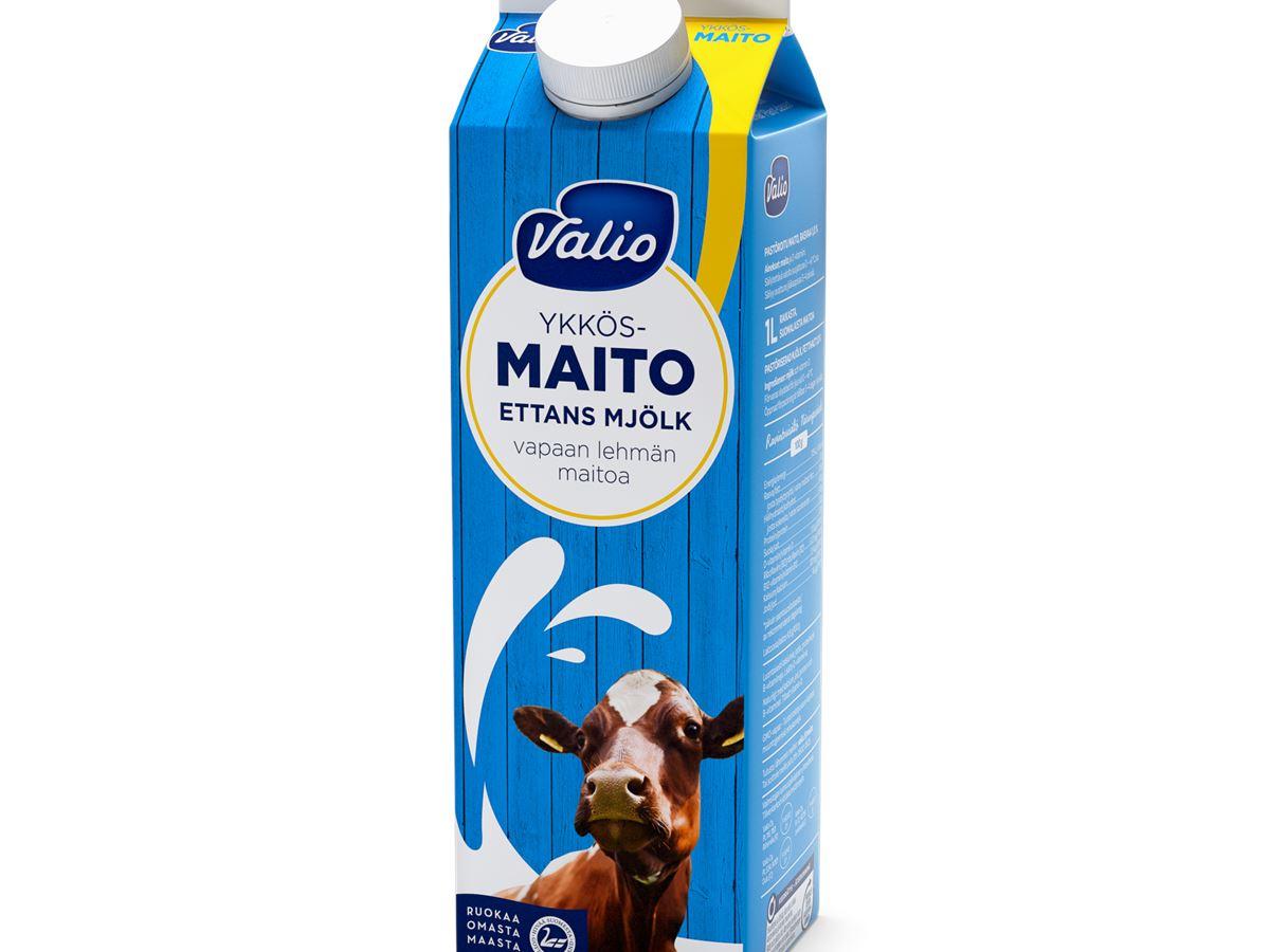 Valio Vapaan Lehmän Maito