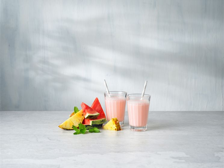 Melon fresh smoothie