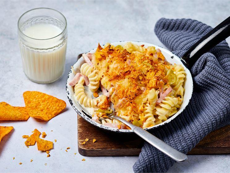Poikamiehen mac & cheese