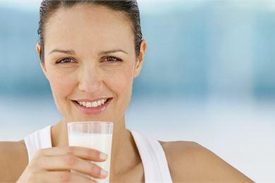 Rasvaton maito palautusjuomana