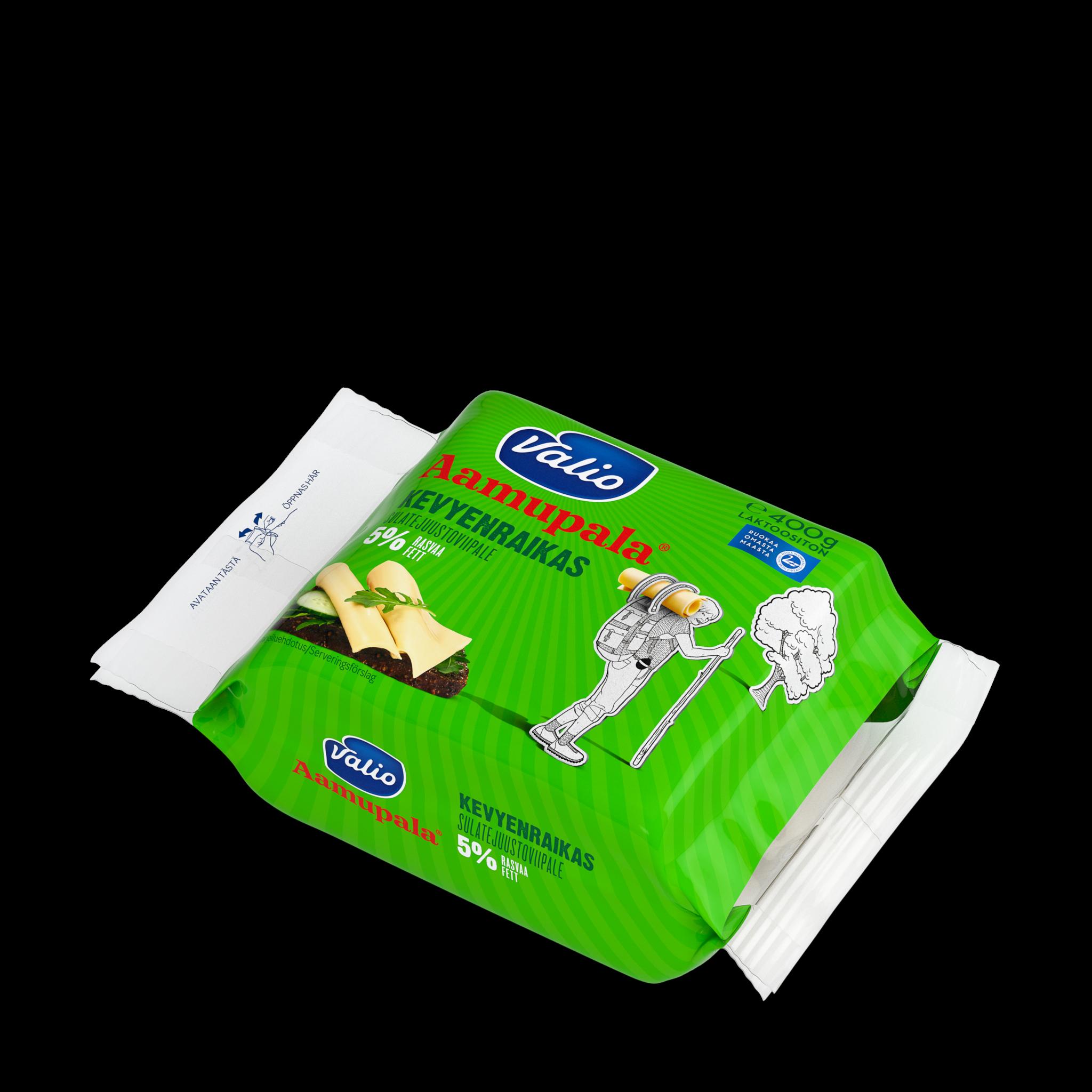 Valio Aamupala® kevyenraikas 5 % sulatejuustoviipale