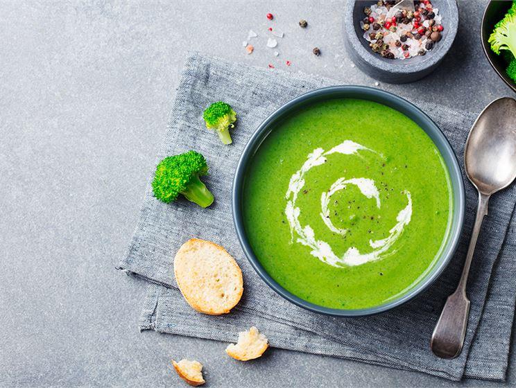 Vegansk broccolisoppa
