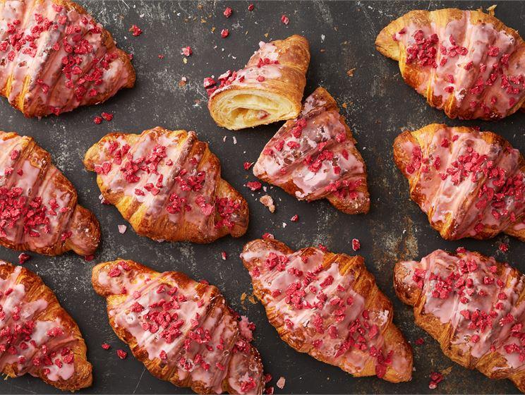 Manteli-vadelma-Croissant