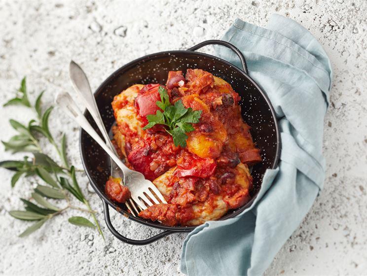 Chorizo- kanapata