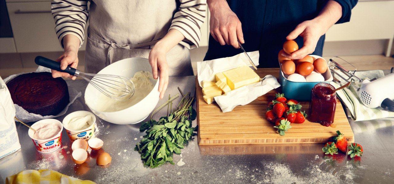 Leipominen yhdessä