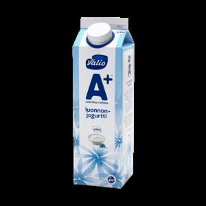 Valio A+™ jogurtti luonnonjogurtti laktoositon