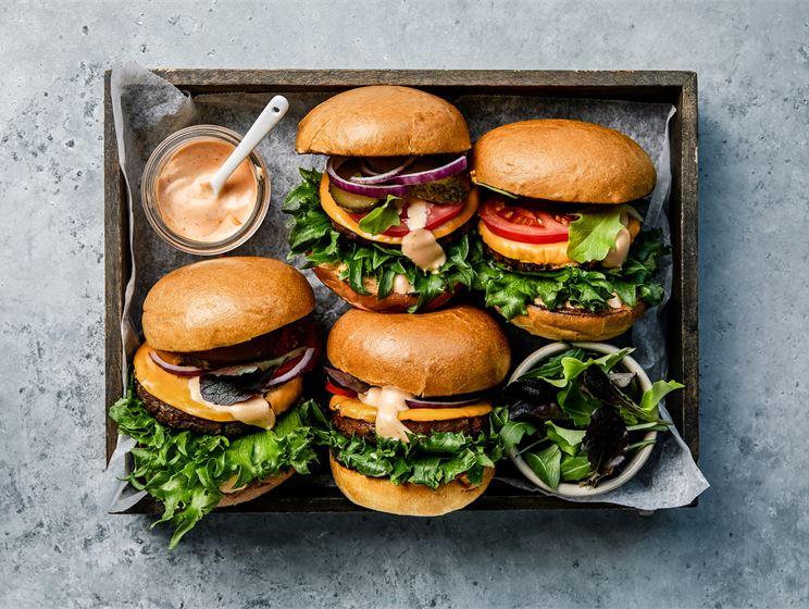 Vegaaninen burger