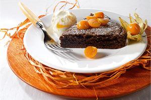 Pehmeä suklaakakku