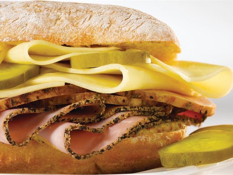 El Cubano Sandwich with Gouda Cheese