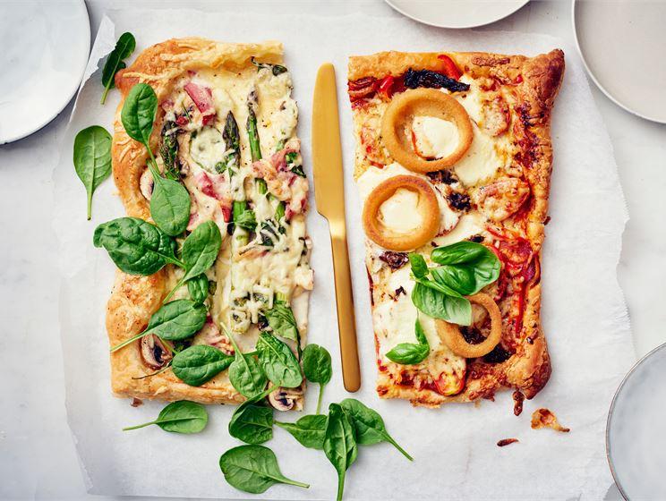 Pizza voitaikinapohjalla