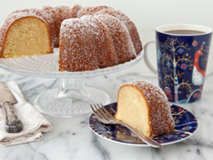 Finnish Almond Butter Cake