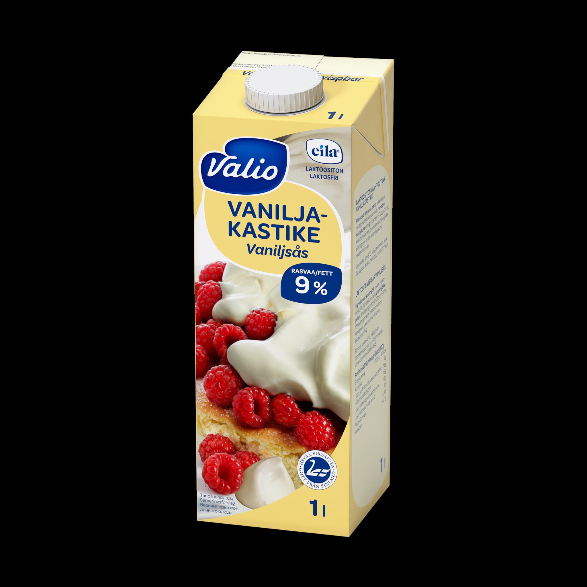 Valio Vaahtoutuva vaniljakastike laktoositon
