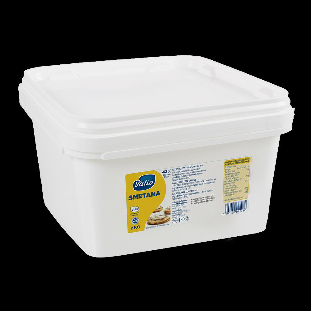 Valio smetana 2 kg laktoositon