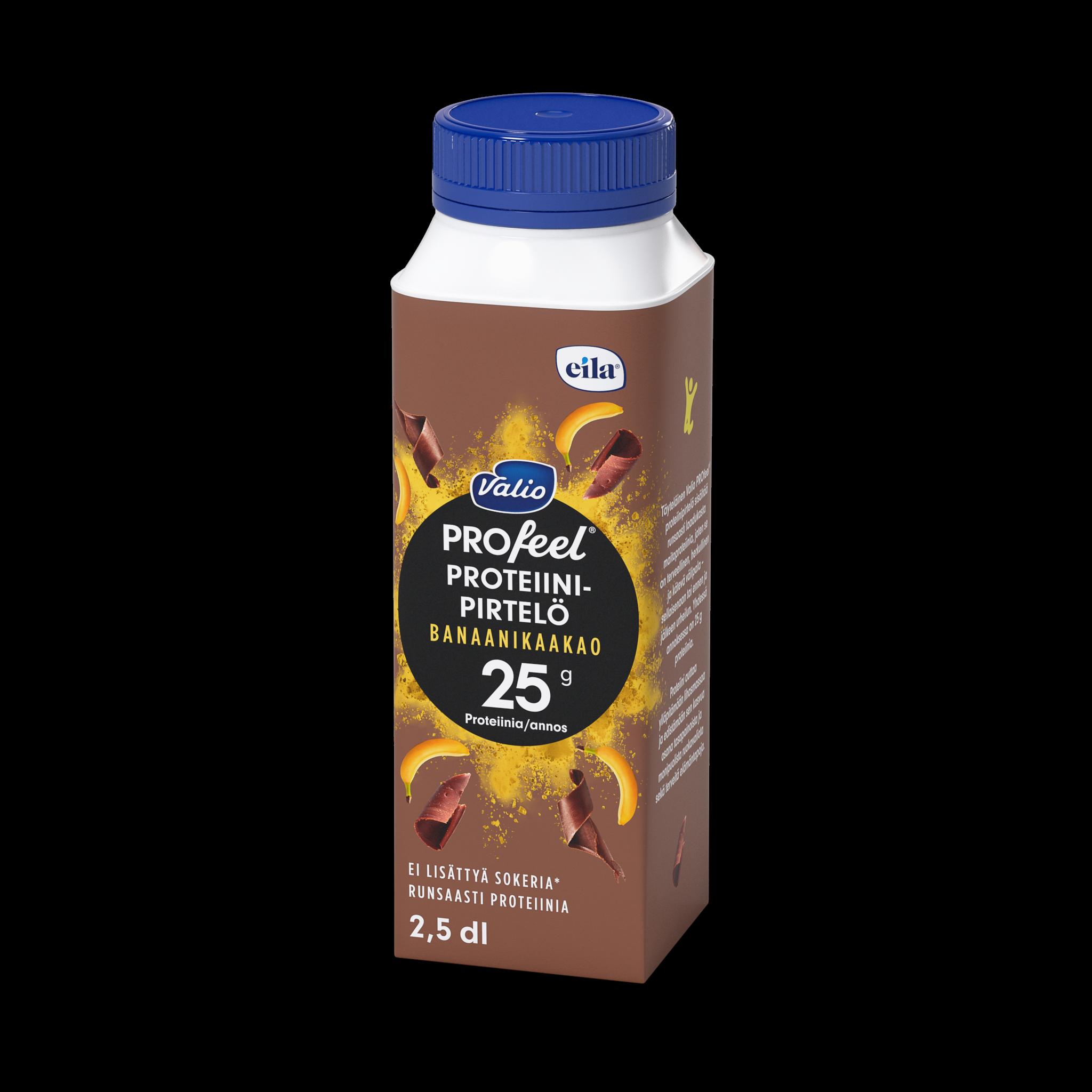 Valio PROfeel®proteiinipirtelö banaani-kaakao laktoositon