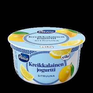 Valio kreikkalainen jogurtti sitruuna laktoositon