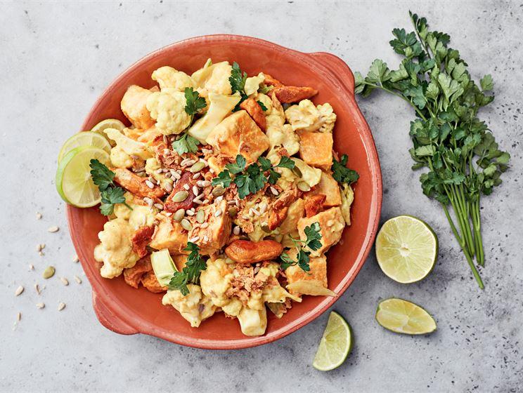 Mifu fajita-curry