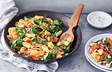 Nopeaa ja helppoa kasvisruokaa