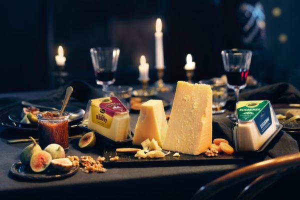 Joulun juustotarjotin