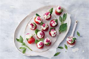 Mozzarella-kirsikkatomaatit