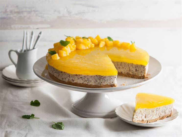 Pähkinäinen appelsiinijuustokakku