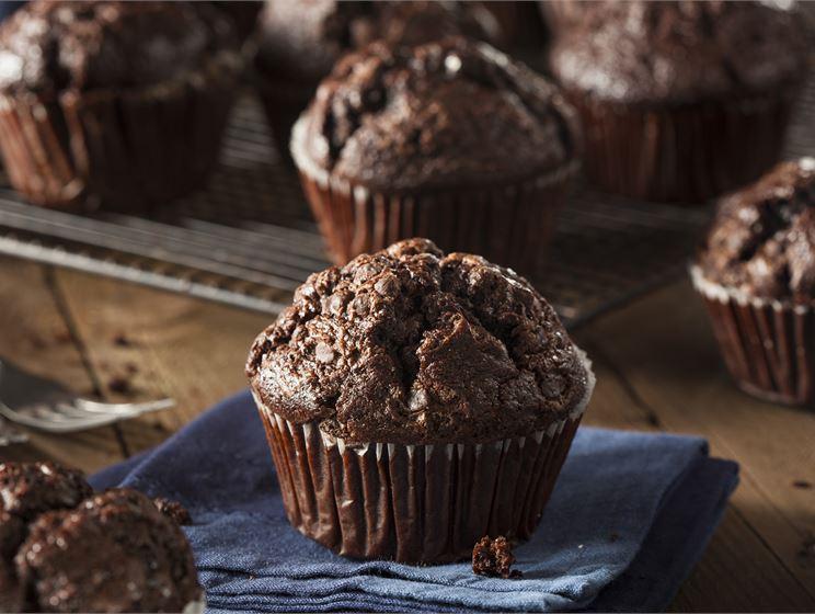 Proteinmuffins med chokladsmak