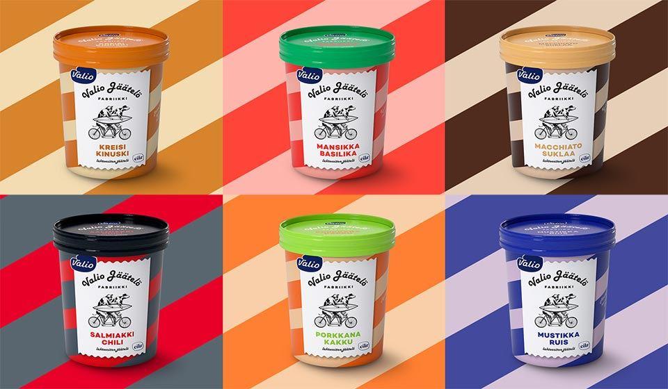 Valio Jäätelöfabriikkin jäätelöt