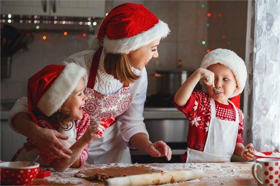 Pakastamalla taltutat joulukiireet