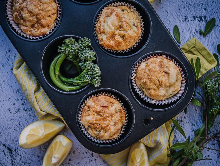 Satokausikalenterin suolaiset muffinit