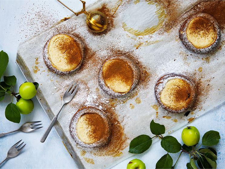 Rahka-omena-korvapuustipulla