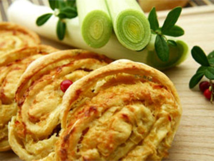 Italian Pinwheels with Havarti Cheese