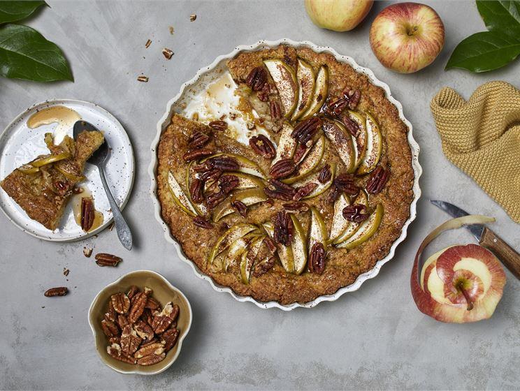 Vegaaninen omenapiirakka