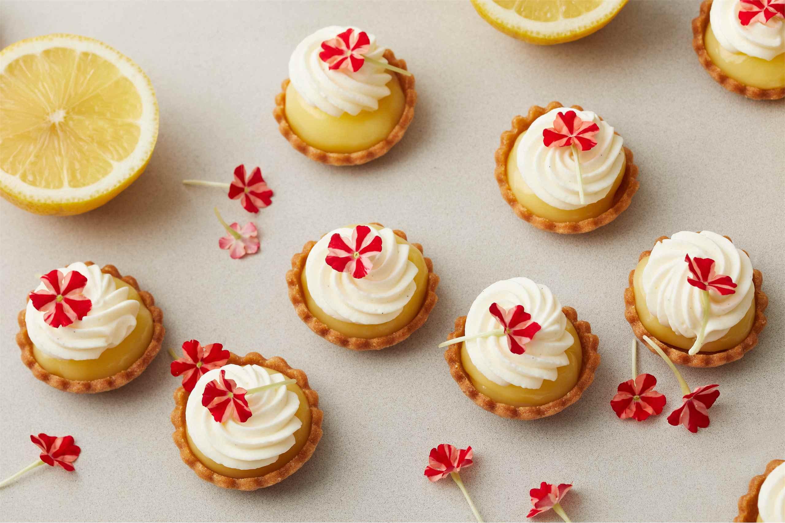 Lemon curd leivokset