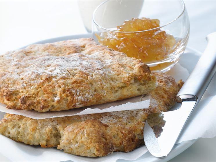 Kaura-juustoteeleipä
