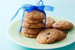 Kahden suklaan cookiet