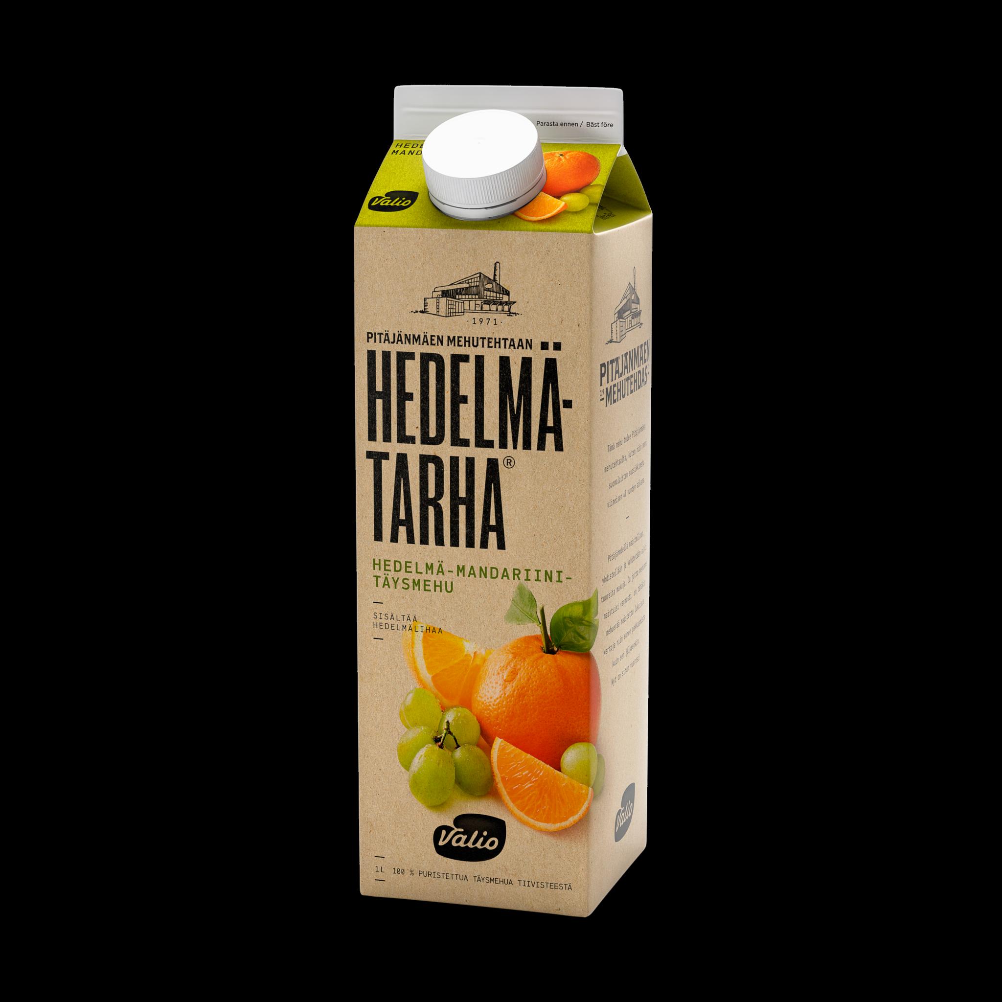 Valio Hedelmätarha® appelsiini - mandariini - rypäletäysmehu hedelmäli