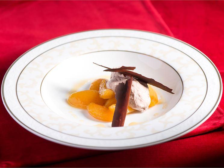 Suklaa-aprikoosirahka