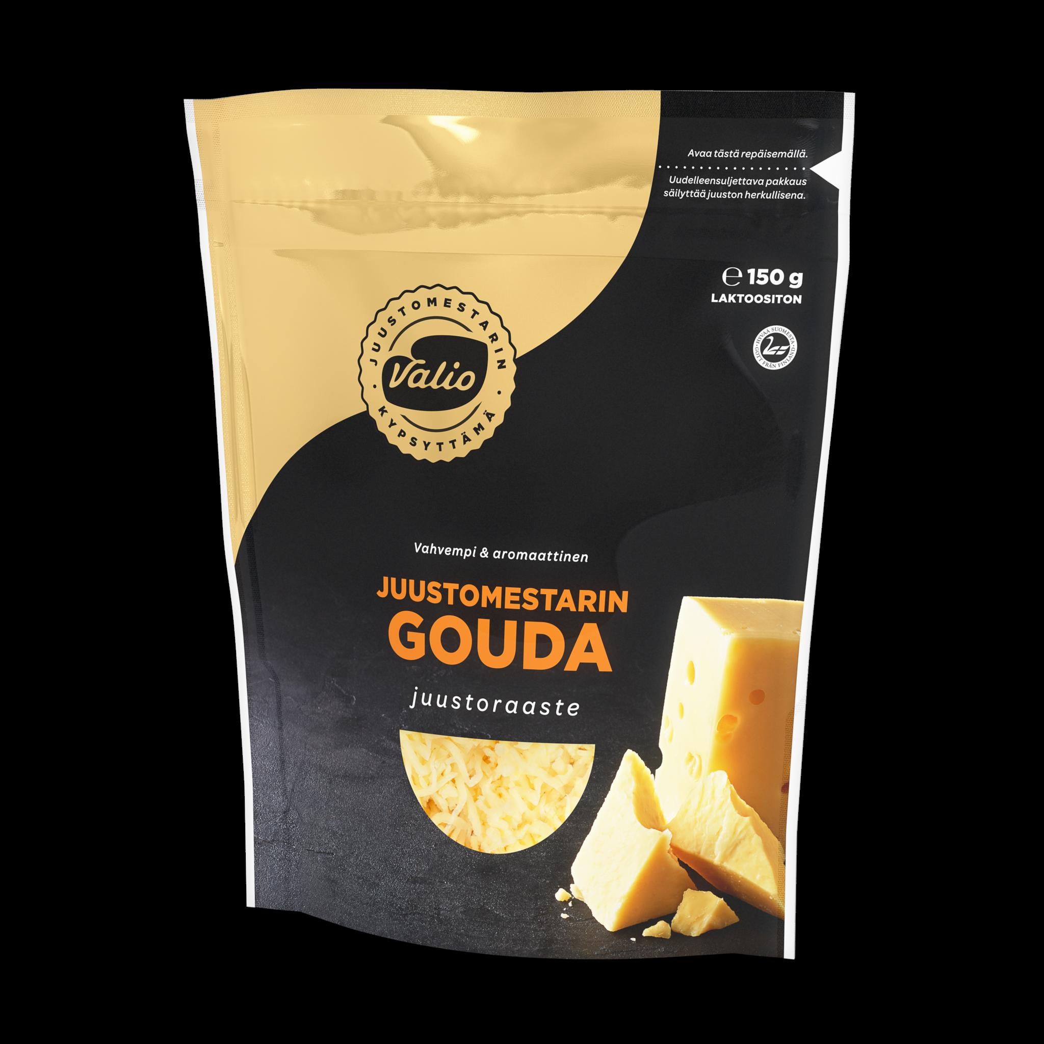 Valio Juustomestarin vahvempi gouda juustoraaste