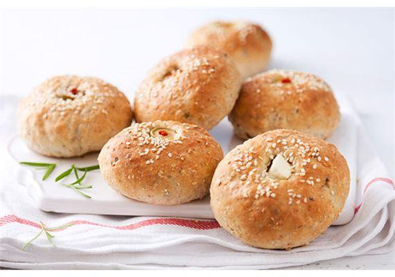 Sämpylät tai suolaiset muffinit