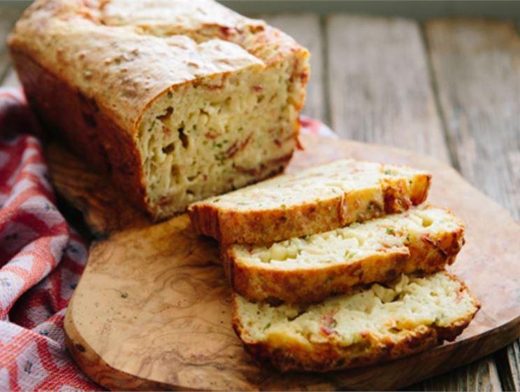 Cheesy Bacon Quick Bread